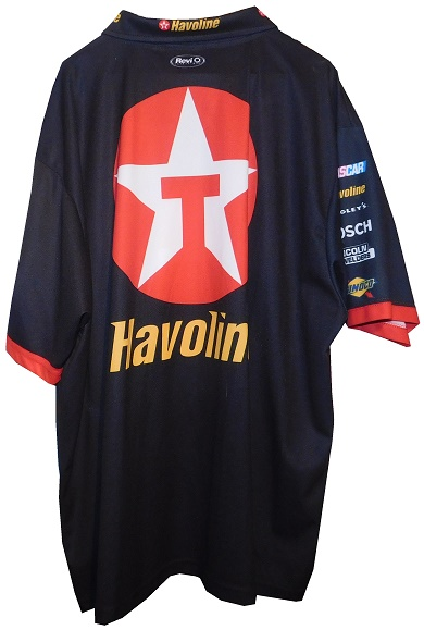 919a6506 One of the best designs in pit crew shirts is Texaco Havoline, as exampled  by this Juan Pablo Montoya shirt from his days with Chip Ganassi Racing.